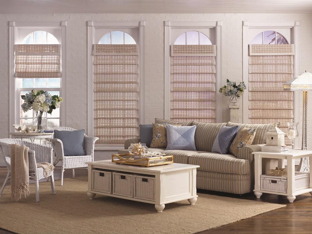 living room window blinds full length windows blynco window fashions